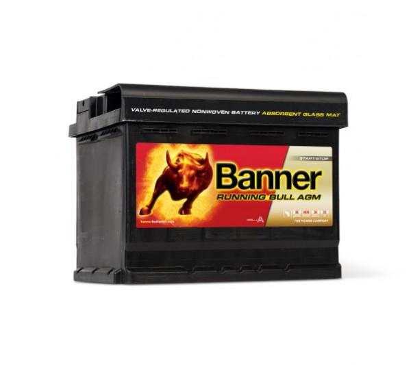 Autobaterie Banner Running Bull 12V 60Ah 640A AGM 56001