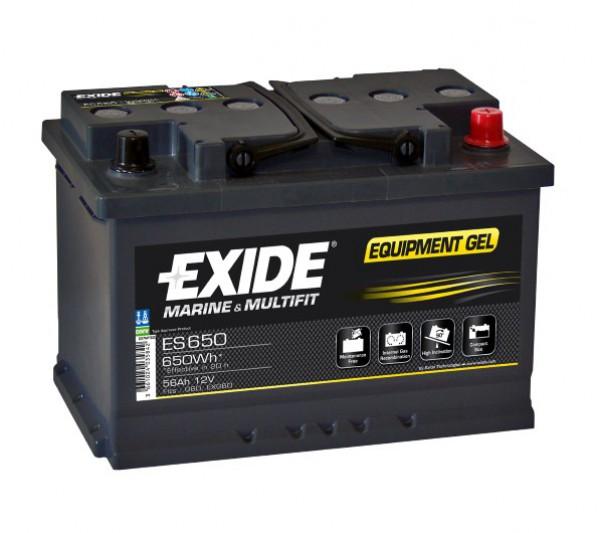 Baterie Exide Equipment GEL 56Ah 12V ES650