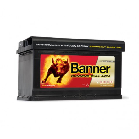 Autobaterie Banner Running Bull 12V 80Ah 800A AGM 58001