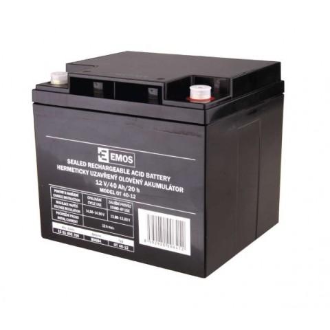 Emos olověný akumulátor 12V/40Ah B9684 1201003700