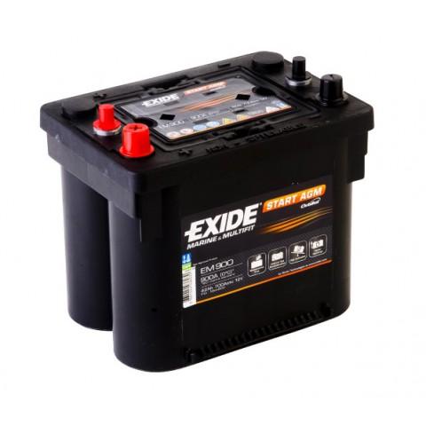 Autobaterie Exide START AGM 42Ah 12V 700A EM900