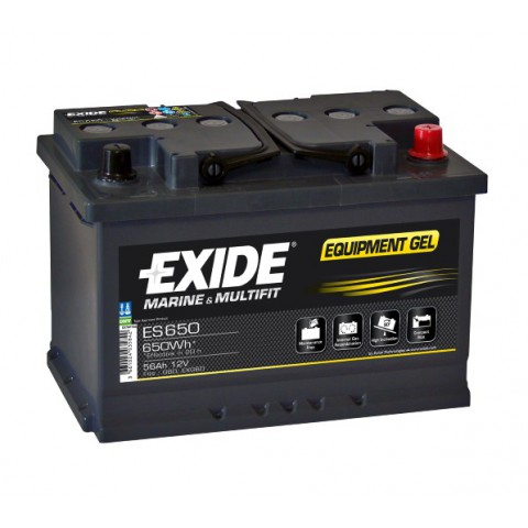 Baterie Exide Equipment GEL 56Ah 12V ES650