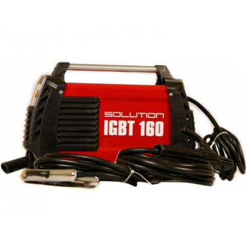 SOLUTION svařovací invertor IGBT 160 + příslušenství