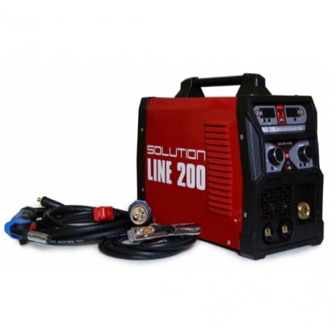 Solution LINE 200 multifunkční svařovací inventor - svářečka