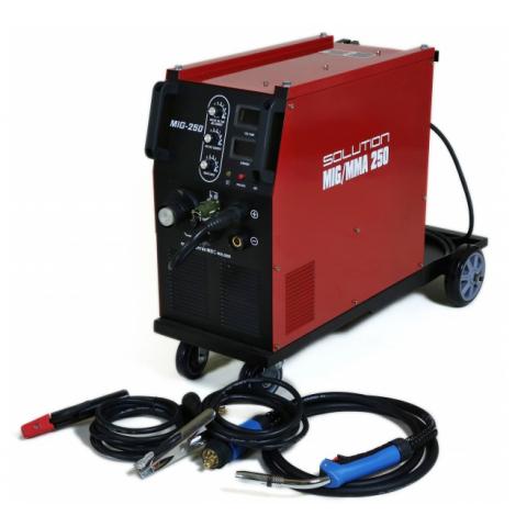 Svářečka - Solution MIG/MMA 250 multifunkční svařovací inventor