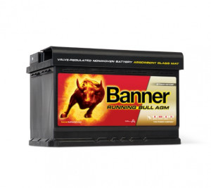 Autobaterie Banner Running Bull 12V 70Ah 720A AGM 57001