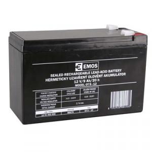 EMOS SLA 12V/9Ah FA-6,3mm 1201002900