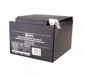 Emos olověný akumulátor 12V/26Ah L2 B9683 1201003600