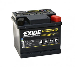 Baterie EXIDE EQUIPMENT GEL 40Ah, 12V, ES450