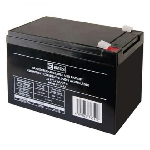 Emos olověný akumulátor 12V/12Ah B9656 1201000850
